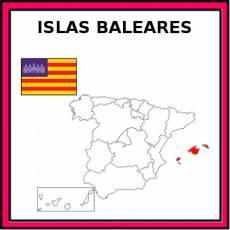 ISLAS BALEARES - Pictograma (color)