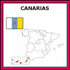 CANARIAS - Pictograma (color)