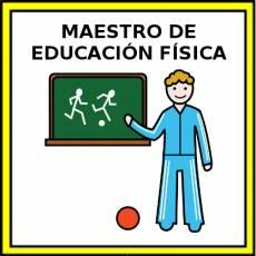 MAESTRO DE EDUCACIÓN FÍSICA - Pictograma (color)