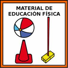 MATERIAL DE EDUCACIÓN FÍSICA - Pictograma (color)