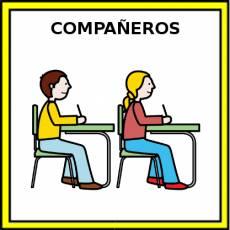 COMPAÑEROS - Pictograma (color)