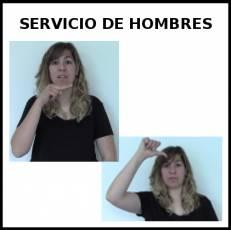 SERVICIO DE HOMBRES - Signo