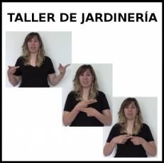 TALLER DE JARDINERÍA - Signo
