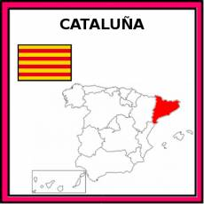 CATALUÑA - Pictograma (color)