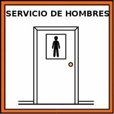 SERVICIO DE HOMBRES - Pictograma (color)