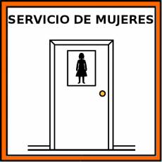 SERVICIO DE MUJERES - Pictograma (color)