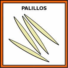 PALILLOS (MONDADIENTES) - Pictograma (color)
