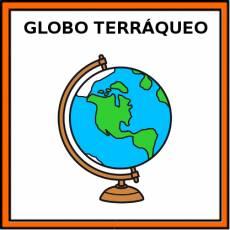 GLOBO TERRÁQUEO - Pictograma (color)