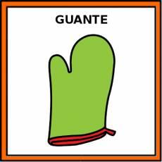 GUANTE (DE HORNO) - Pictograma (color)