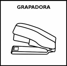 GRAPADORA - Pictograma (blanco y negro)
