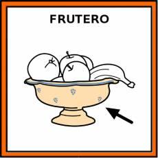 FRUTERO (RECIPIENTE) - Pictograma (color)