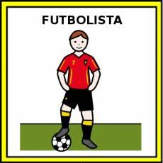 FUTBOLISTA (HOMBRE) - Pictograma (color)