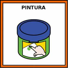 PINTURA (DEDOS) - Pictograma (color)