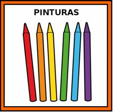 PINTURAS (CERA) - Pictograma (color)