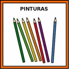 PINTURAS (MADERA) - Pictograma (color)