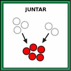 JUNTAR - Pictograma (color)