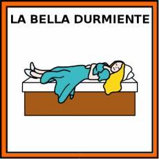 LA BELLA DURMIENTE - Pictograma (color)