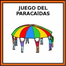 JUEGO DEL PARACAÍDAS - Pictograma (color)