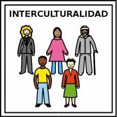 INTERCULTURALIDAD - Pictograma (color)