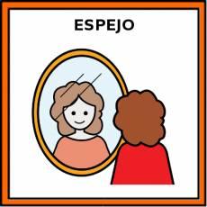 ESPEJO (DE PARED) - Pictograma (color)