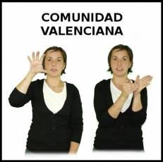 COMUNIDAD VALENCIANA - Signo