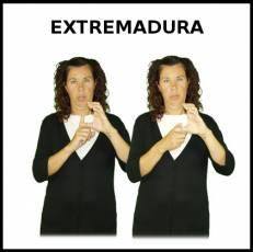 EXTREMADURA - Signo