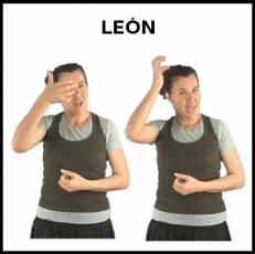 LEÓN (PROVINCIA) - Signo