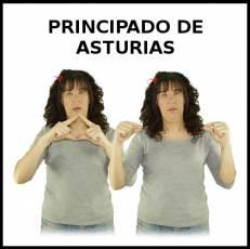 PRINCIPADO DE ASTURIAS - Signo
