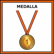MEDALLA (TROFEO) - Pictograma (color)