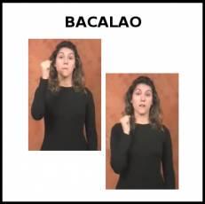 BACALAO (ANIMAL) - Signo