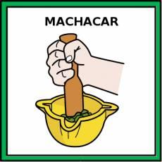 MACHACAR - Pictograma (color)