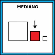 MEDIANO - Pictograma (color)