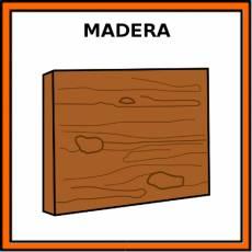 MADERA - Pictograma (color)