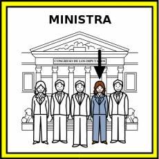 MINISTRA - Pictograma (color)