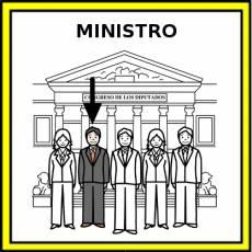 MINISTRO - Pictograma (color)