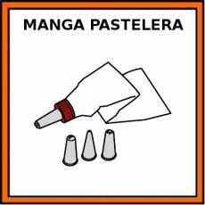 MANGA PASTELERA - Pictograma (color)