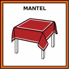 MANTEL - Pictograma (color)