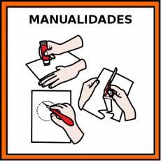 MANUALIDADES - Pictograma (color)