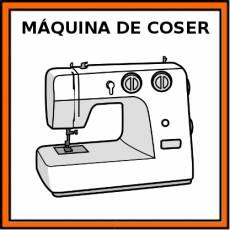 MÁQUINA DE COSER - Pictograma (color)