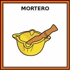 MORTERO - Pictograma (color)