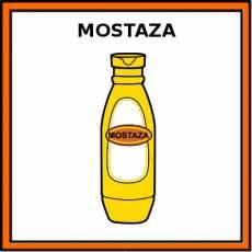 MOSTAZA - Pictograma (color)