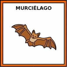 MURCIÉLAGO - Pictograma (color)