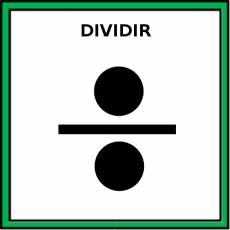 DIVIDIR - Pictograma (color)