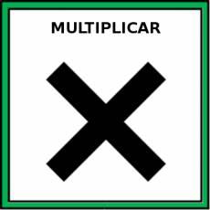 MULTIPLICAR - Pictograma (color)