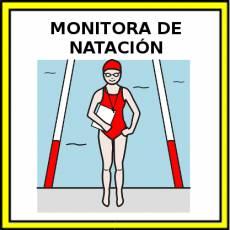MONITORA DE NATACIÓN - Pictograma (color)