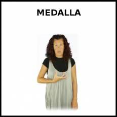 MEDALLA (TROFEO) - Signo
