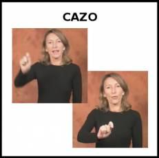 CAZO (DE SERVIR) - Signo
