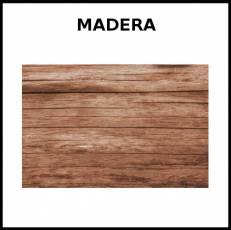 MADERA - Foto