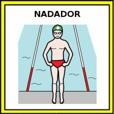 NADADOR - Pictograma (color)