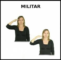 MILITAR (HOMBRE) - Signo